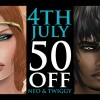 AKERUKA SALE 50% on Twiggy & Neo skin!
