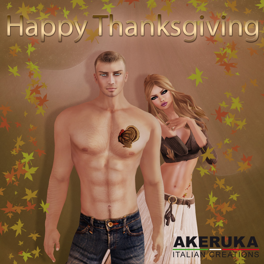 Akeruka thanksgiving gift