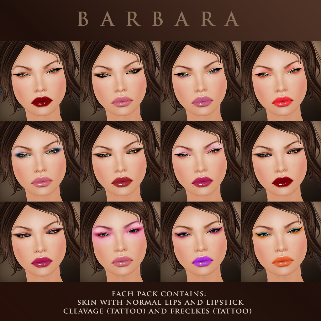 Barbara Makeups